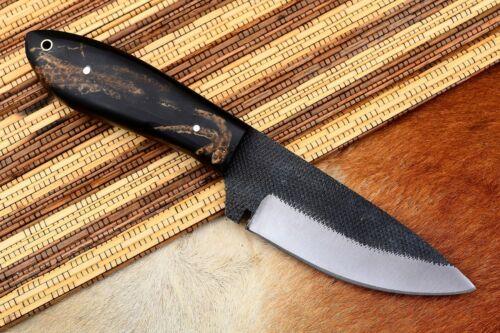 """8"""" MH KNIVES CUSTOM HANDMADE CARBON STEEL FULL TANG HUNTING/SKINNER KNIFE CS-09"""