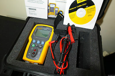Fluke 721 1603 16 300 Psig Dual Sensor Precision Pressure Calibrator Dc Measure