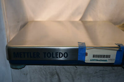 Mettler Toledo Stainless Steel Scale Platform Only - Used