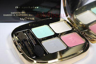 Dolce & Gabbana Smooth Eye Colour Quad Eyeshadow (Eden 157) Full Size Nib