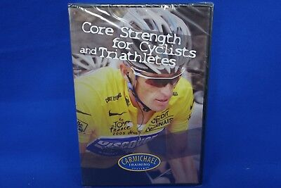 NEW Carmichael Training Systems DVD Core Strength for Cyclists and Triathletes