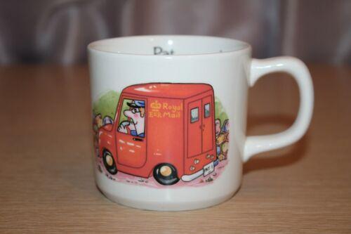 1984 Crown Staffordshire Postman Pat Breakfast Mug W. A. Ltd Made in England