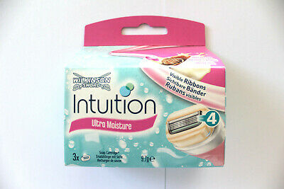 Wilkinson Sword Intuition Ultra Moisture Soap Catridge - 3 Replacement Blades