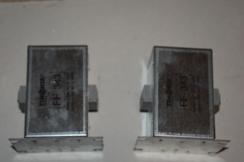 TWO (2) Timonta FF 343 250v 5a Amp Line Filters