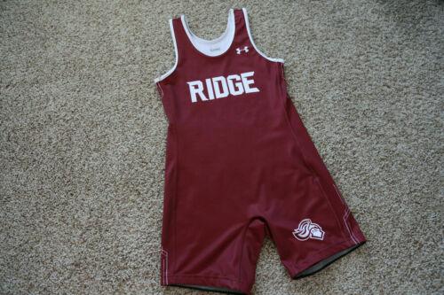 Mens Wrestling Team Singlet Large XL Under Armour high school spandex