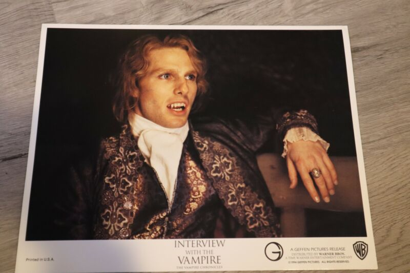 1994 Interview with the Vampire Chronicles Movie Poster Lobby Cards Stills