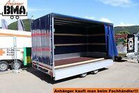 EDUARD Anhänger mit Hochplane Hochlader 406x200x200 2700kg Schieb Baden-Württemberg - Tannheim Vorschau