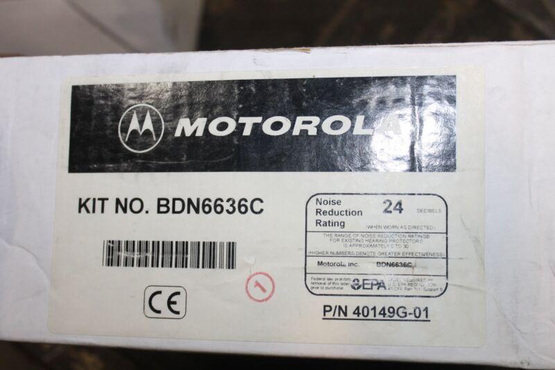 NEW MOTOROLA BDN6636C HEADSET MICROPHONE