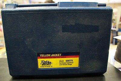Yellow Jacket 69075 Full Range Superevac Lcd Vacuum Range