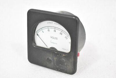 Simpson 66643 Direct Current 0-30v Panel Meter 1000 Ohm V