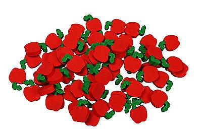 144 Mini Teachers Apple Erasers Great Classroom Prizes!
