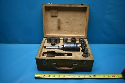 Used Big Drilling Tapping Quick Change Attachment Type Dt24 R8 Shank