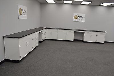 17x15 Fisher American Base Laboratory Furniture Cabinets Lab Equipment -e1-101