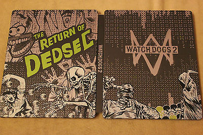 Watch Dogs 2 Steel Case STEELBOOK G2 PS4 or XBOX ONE BRAND NEW !!!! for sale  Shipping to Nigeria