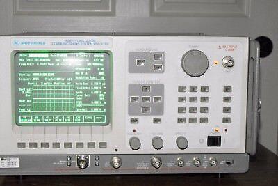 Motorola R-2670a R2670a Fdma Communications Analyzer 916153