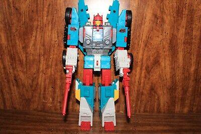 Transformers titans return leader QUICKSWITCH - rare complete lot excellent 316