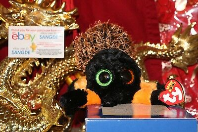 TY BEANIE BOOS HAIRY THE HALLOWEEN SPIDER.3