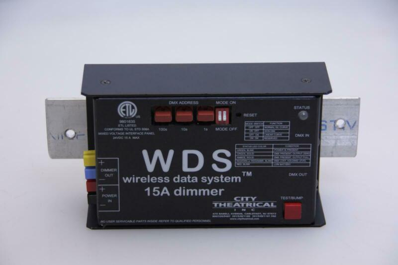 CITY THEATRICAL WDS 15A DIMMER 7808.TESTED.SKU210219
