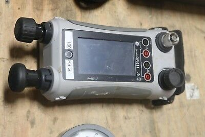 Ge Druck Dpi611 Hand-held Pressure Calibrator 100 Psig