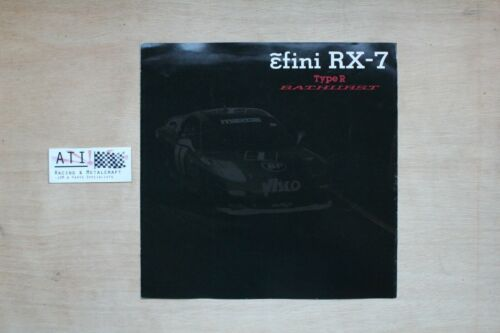 JDM Mazda FD FD3S RX7 RX-7 sale brochure catalogue Type R Bathurst