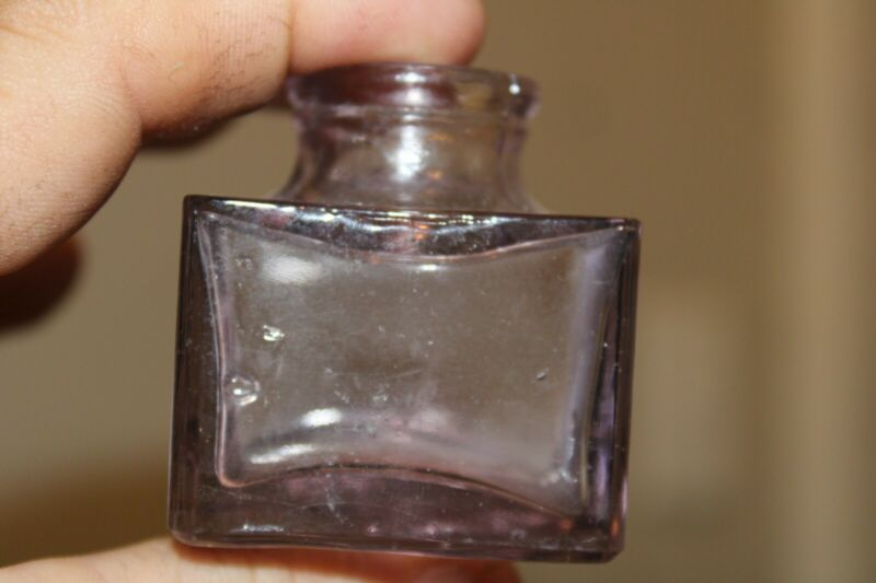 Antique Square (CANDY LAVENDER), Ink Well, Item # A - 127