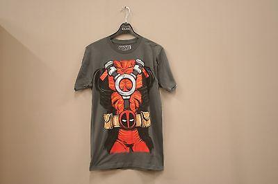 DEADPOOL - BODY / SUIT GRAY T-SHIRT..MARVEL ..Size - Deadpool Bodysuit