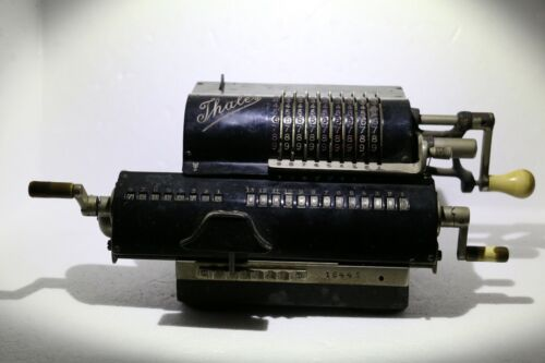 Antique Thales Pinwheel Calculator Adding Machine Germany