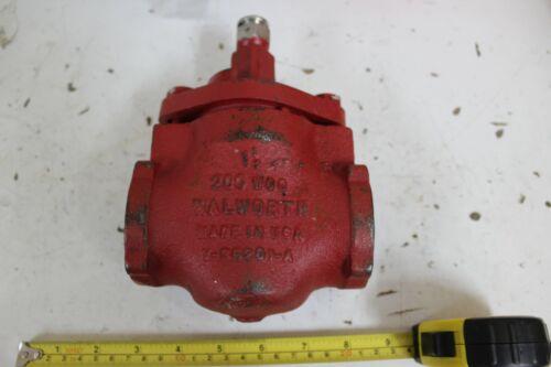 Walworth V-39201-A Steel Plug Valve New