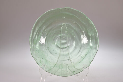 ca. 1927 No 1113 CATALONIA Consolidated Glass EMERALD GREEN Bread & Butter Plate