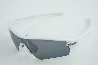 Oakley Radar Straight Stem #09-703 Pearl White/Polarized Black Iridium (Oakley Radar Womens)