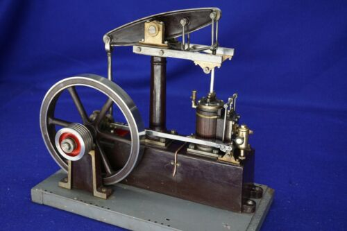 Stuart Beam Steam Engine, precise runner.