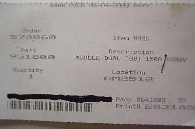 Esab Dual Igbt Module 951800 Cm150dy-24h Plasma Cutter Part