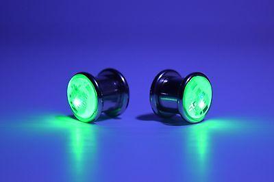 Pair LED Light up Ear Gauge Plug ( Size: 8mm - 5/16