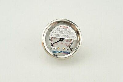 New Genuine Oem Thermotrol Replacement Pressure Gauge -30 To 200 Psi Kpa