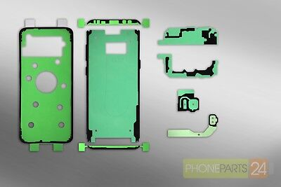 Samsung GALAXY S8 Plus G955 LCD Backcover Kamera Touch ID Sticker Kleber Set Samsung Lcd Back Cover
