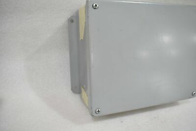 Hoffman A1008sc 10h X 8w X 4d Cover Junction Box With Terminal Blocks Inside