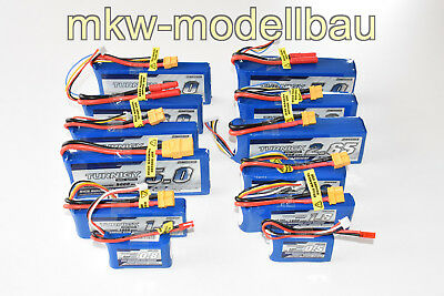 Turnigy Lipo Akku Pack 2s 3s 4s 5s 6s | 500 - 5000mAh | 20 - 30C Serie 30c Lipo Pack