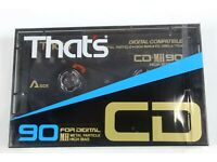 1 SEALED THAT/' CD MH 100  For Digital Metal Particle BLANK CASSETTE  TAPE