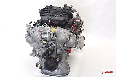 2011 NISSAN NISMO 370Z Z34 ENGINE MOTOR BLOCK MANUAL COMPLETE ASSEMBLY /N01  Engine Assembly Manual
