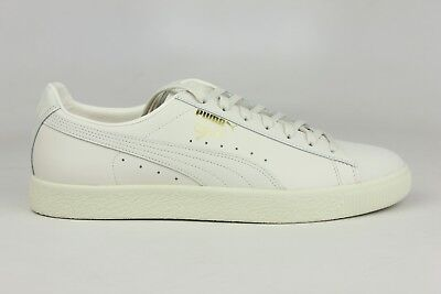 PUMA CLYDE NATURAL STAR WHITE MENS SIZE SNEAKERS 363617-02 BRAND NEW DS (Star White Natural)