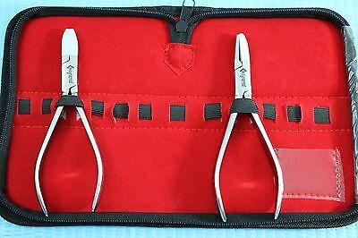 New Premium Set Of 2 Each Optician Optical Plierseyeglasses Tool Set2821