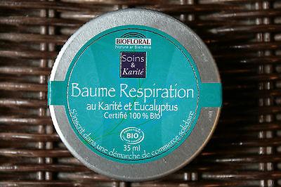 Balsam Atmung Bio Au Sheabutter & Eukalyptus,Nase Verstopft/Husten,35ml –