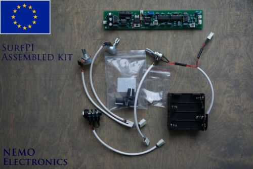 Surf PI Pulse induction Metal detector Assembled board Tested and Tuned kit EU