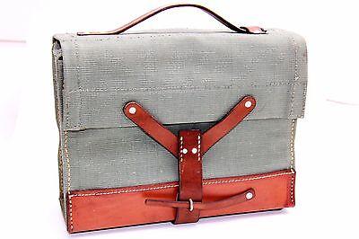 Original Schweizer Armee Militär Tasche - vintage back Swiss military