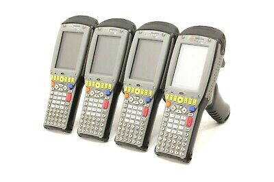 Lot Of 4 - Psion Teklogix 7535 G2 Handheld Terminals 1d Standard Laser Ce5.0