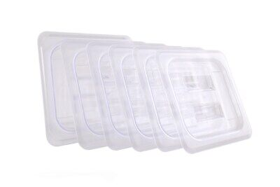 Cmi 16 Size Polycarbonate Gastronorm Pans Lidcoverclear - Case Of 6