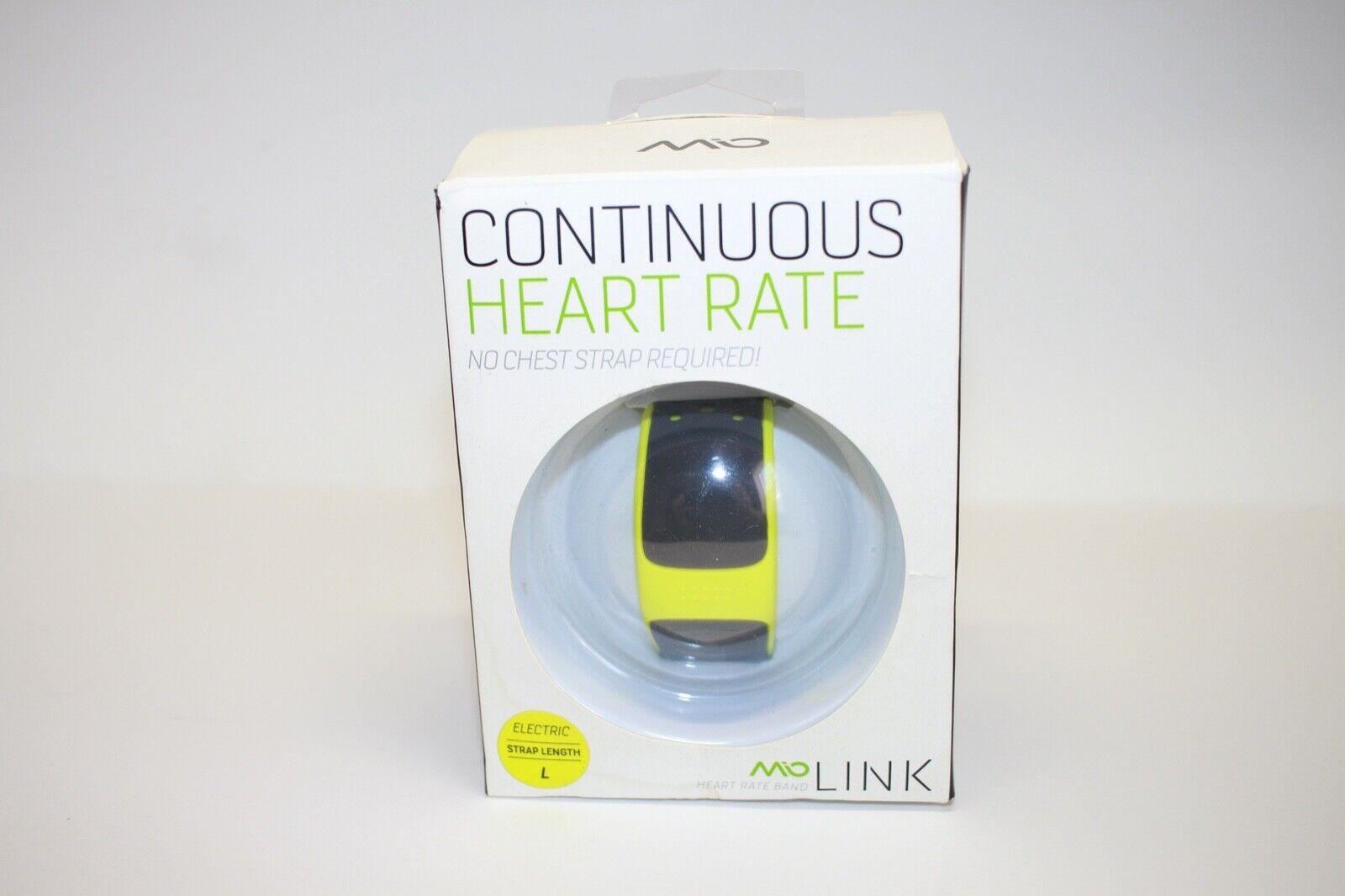Mio LINK Heart Rate Monitor Wristband, Small/Medium, Arctic