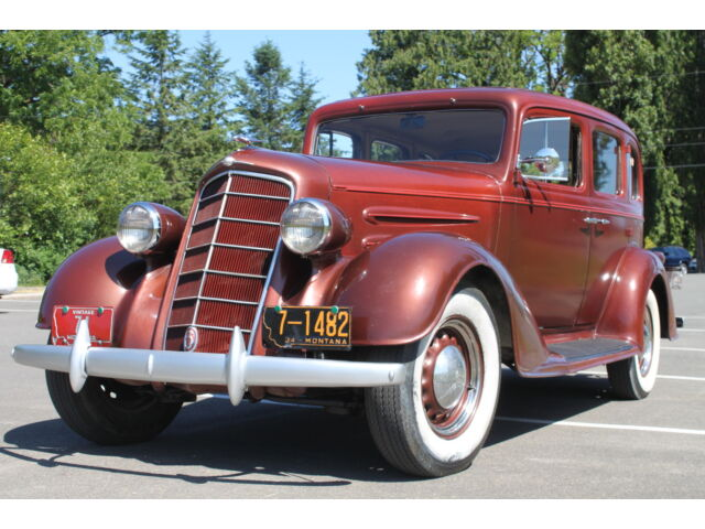 1934 Oldsmobile Touring Sedan – Superb, dry Montana Body, Great Patina & Style.