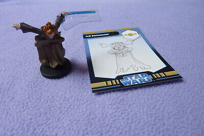 Star Wars Miniatures Jedi Academy - Jedi Battlemaster #1 + Card