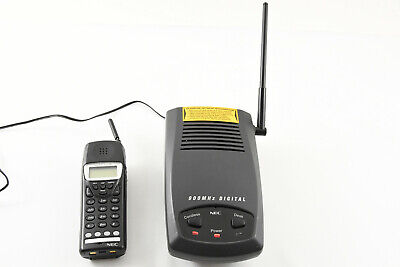 Nec Dtr-4r-2 Cordless Telephone Digital 900 Mhz Phone -read The Details